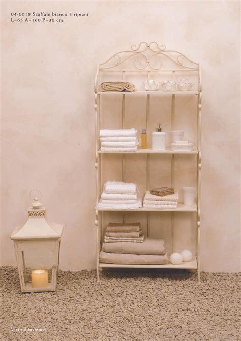 scaffali da bagno mobiletti e accessori bagno in ferro battuto hancock