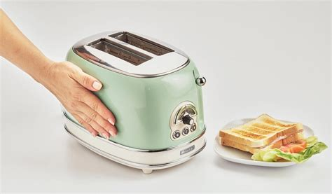 tostapane vintage ariete tostapane vintage 2 pinze acciaio tosta toast pane