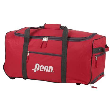 Souvenir Sport Bag Printedtas Tenteng 65 penn trolley sports travel bag handle wheels luggage carry