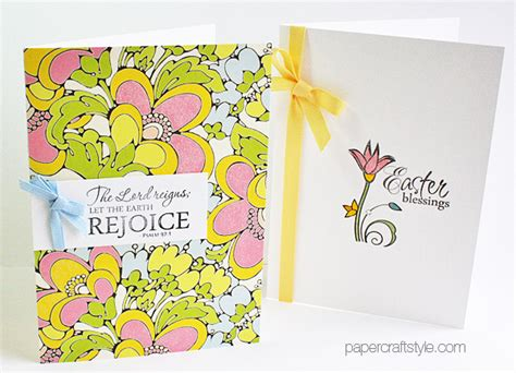 religious easter cards to make handmade religious easter cards featuring verve sts and