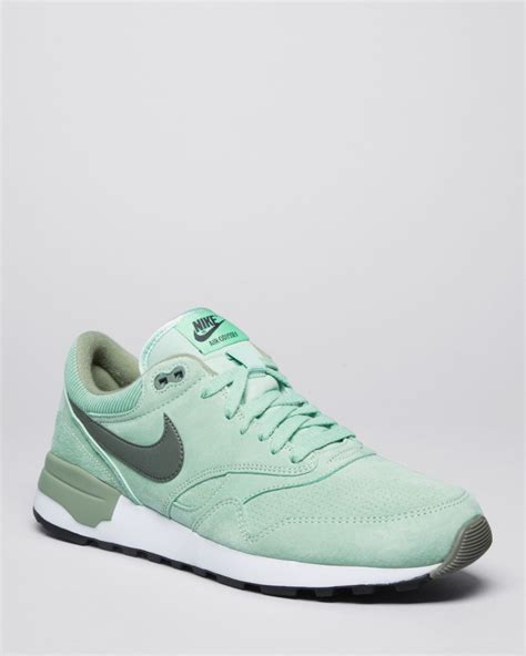 mint green nike sneakers nike air odyssey leather sneakers in green for mint