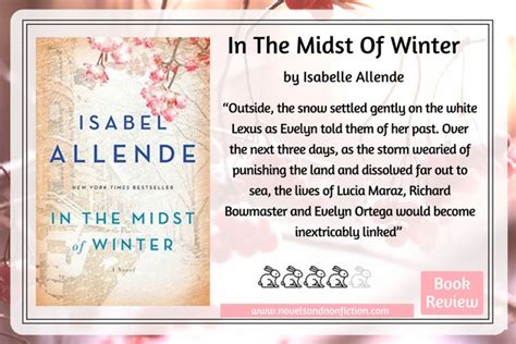 in the midst of winter a novel just read review of in the midst of winter and