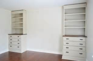 Horizontal Bookcases Installing Bedroom Built Ins Young House Love