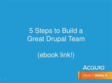 build how to create a phenomenal team for your service company books how to build a great drupal team