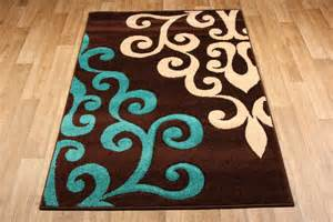 Chocolate Brown And Blue Area Rug Teal And Brown Area Rugs Roselawnlutheran
