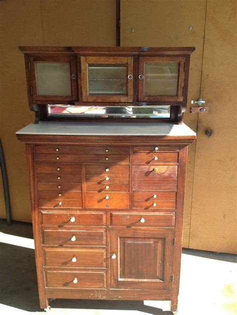 Vintage Dental Cabinet by Antique Dental Cabinet