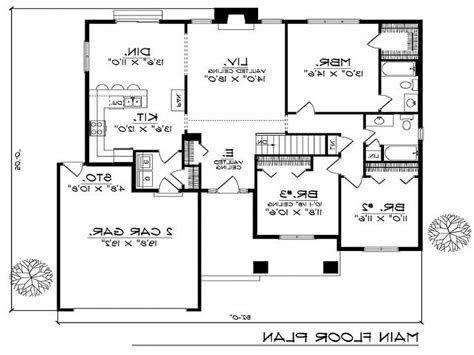 2 bedroom open floor plans 2 bedroom house plans with open floor plan 2 bedroom