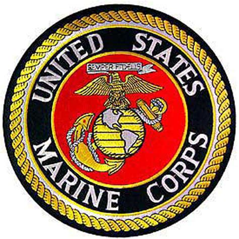 us marine corps large patch ebay