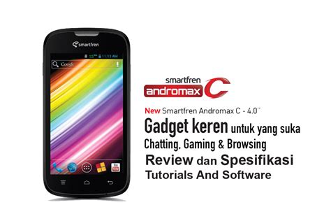 Review Lengkap Spesifikasi Dan review dan spesifikasi smartfren andromax c tutorials