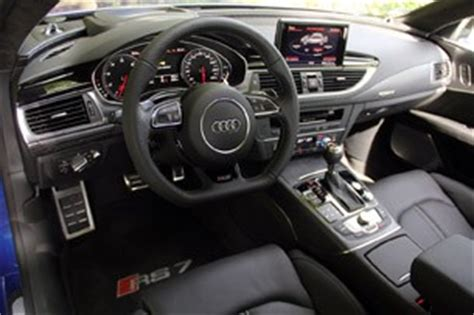 Rs7 Interior by 2014 Audi Rs7 W Autoblog