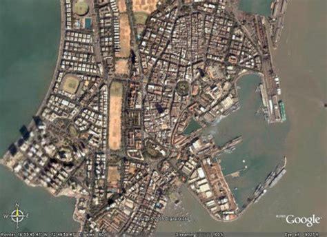 mumbai map satellite mumbai map satellite view