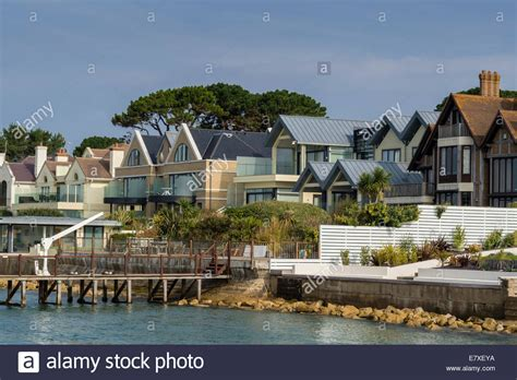 houses in dorset to buy luxury houses at sandbanks poole harbour dorset uk stock photo royalty free image