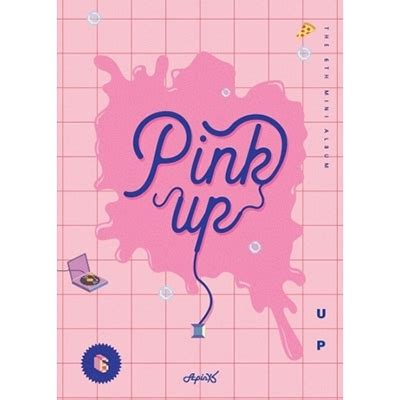 Apink Album Pink Up Blue Ver 6th mini album pink up a ver apink hmv books