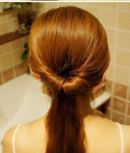 Hair Topsy Alat Sanggul Rambut how to do it yourself simple variation of ponytail