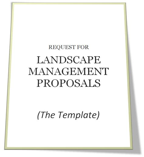 best photos of landscaping bid form template landscape