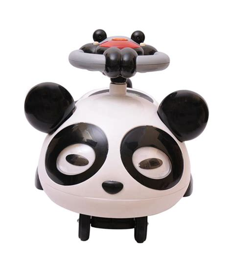 panda swing car baby toy kidz love panda swing car with music buy baby