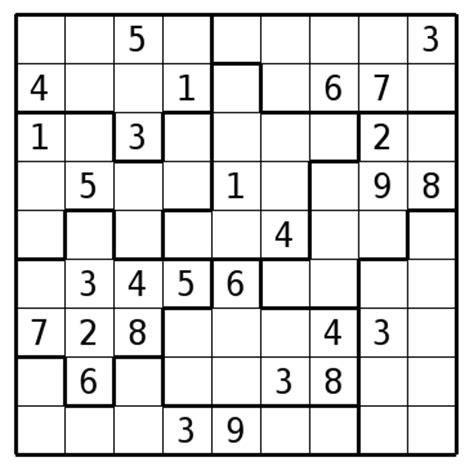 printable sudoku jigsaw puzzles image gallery jigsaw sudoku