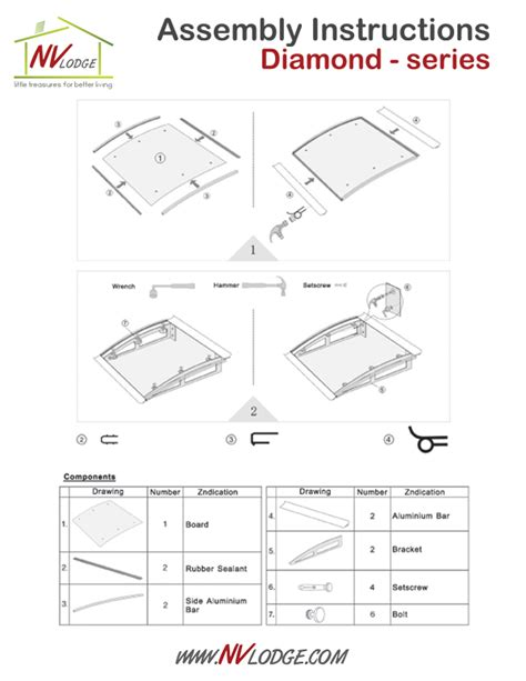 canopy awning diy kit diamond 1