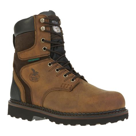 boots of mens 8 inch brookville waterproof work boots