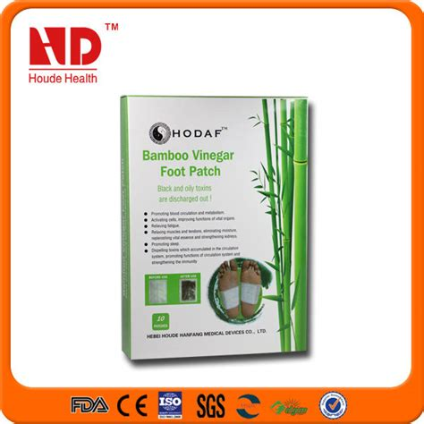 Japanese Bamboo Vinegar Detox Patch by Healthcare Japanese Bamboo Vinegar Detox Slim Foot Patch