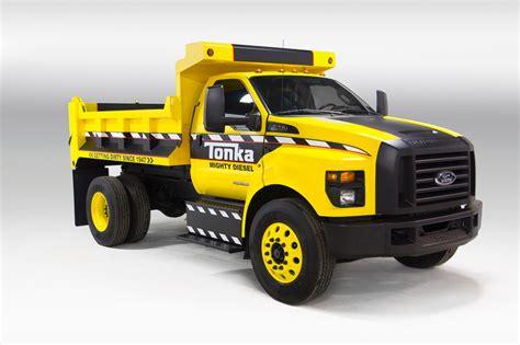 tonka truck 2016 ford f 750 tonka dump truck 5 egmcartech