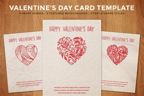 valentines day card templates simple s day card template card templates on
