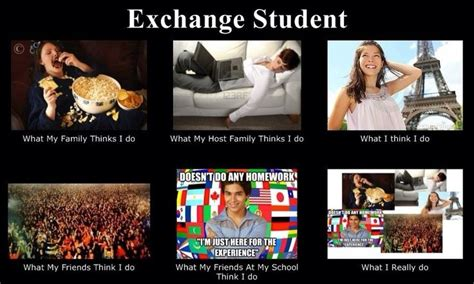 Studying Abroad Meme - exchange student quotes quotesgram