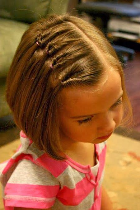 nice hairstyle for short medium hair with one hair band best 25 little girl hairstyles ideas on pinterest kid