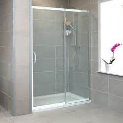 glass shower door height aquafloe 8mm thick glass sliding shower door