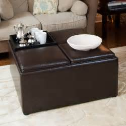 Ceramic Table Ls For Living Room Living Room Leather Ottoman Coffee Table With Coffee Table Fascinating Square Ottoman Coffee