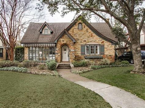 Cottage Dallas by Tudor Home 5422 Merrimac Avenue Dallas Tx Home Sweet Home Grand Plans
