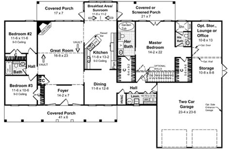 2100 square feet southern style house plan 3 beds 3 00 baths 2100 sq ft