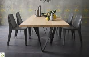 gambe tavolo metallo tavolo con gambe effetto intreccio intres arredo design