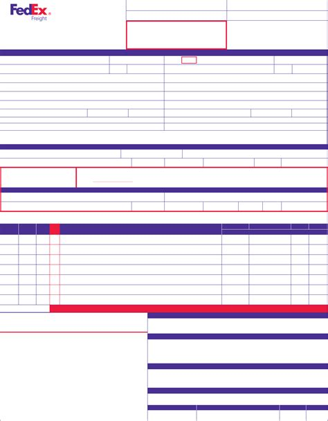 section 7 bill of lading pics for gt fedex freight bill of lading