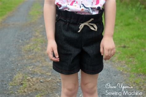 pattern for paper bag shorts paper bag shorts pdf pattern and tutorial free size 5 6