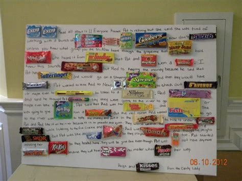 Candy Gift Card - 46 best images about candy cards on pinterest candy poster board graduation and
