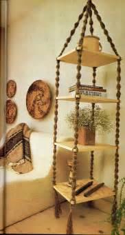 hanging shelf macrame pattern 6 vintage macrame