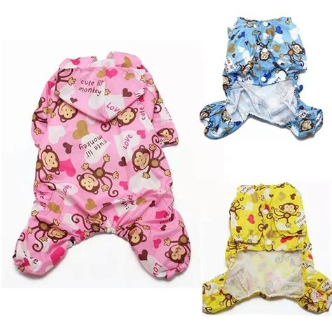 teacup clothes onsie pajamas clothes tiny teacup puppy mini 23cm chihuahua coat ebay