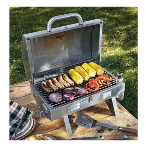 Brand New in Box Cabela's Stainless Steel Tabletop Grill