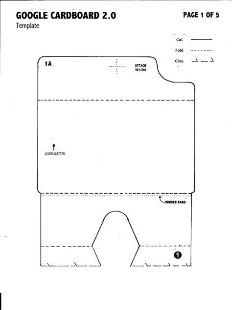 Google Cardboard v 2.0 Template