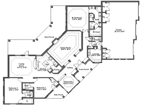 custom home floor plan floor plans desert home drafting