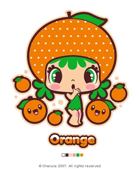 imagenes de naranjas kawaii charuca cute orange charuca vargas flickr