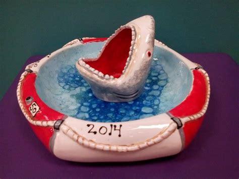 color me mine hamilton nj shark chip dip customers plates pottery