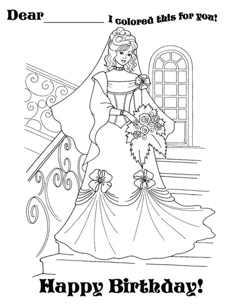 coloring pages for adults birthday coloring pages princess happy birthdayjpg happy birthday