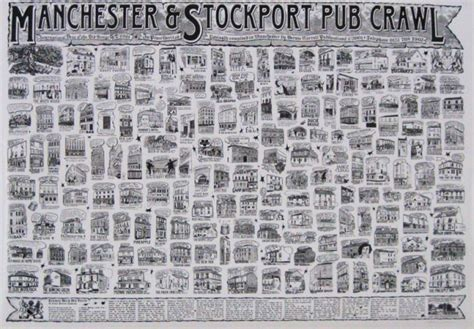 Stelan Pp White New York Rsby 417 pub crawl posters buy this manchester stockport pub crawl poster at panicposters
