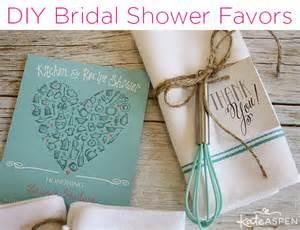 diy bridal shower whisk tea towel favors kate aspen