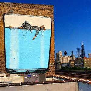 the 37 street artist designed bottles and 5 wall murals wall mural chicago skyline chicago us pixersize com