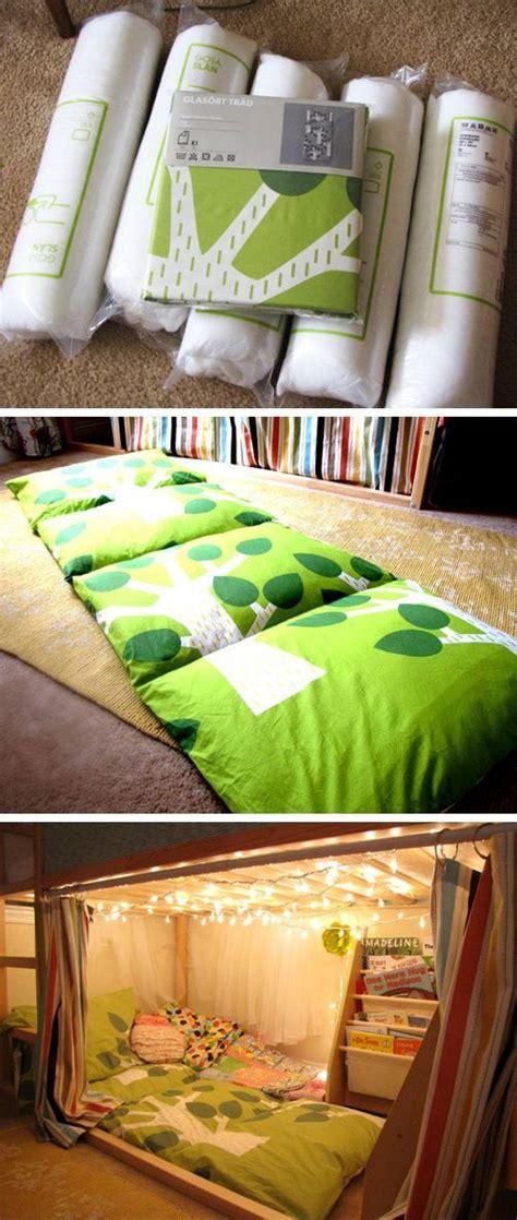 kissen matratze unterm hochbett kuschelecke mit - Kuschelecke Unterm Hochbett