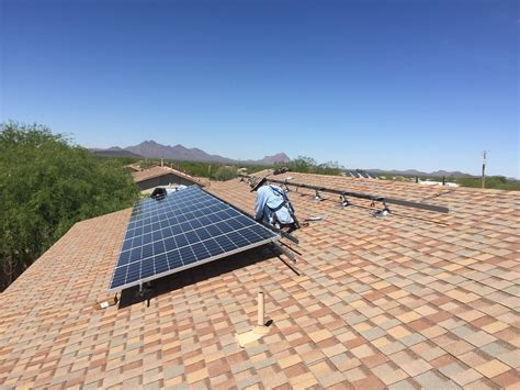 anchor roofing systems arizona are solar panels safe for my roof solar solution az