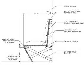 banquette seating kitchen plans 19 how to build banquette